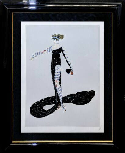 "Erte ""la Merveilleuse"" 1980 