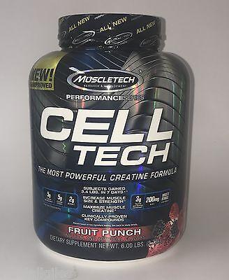 Muscletech Performance Series Cell Tech 6 Lb, Exp 08/21