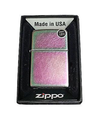 Zippo 24249 Regular Spectrum Media Wick Lighter Brand New in Box