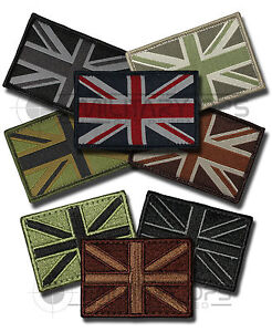 UNION-FLAG-JACK-VELCRO-BACKED-PATCH-EMBROIDERED-WOVEN-SUBDUED