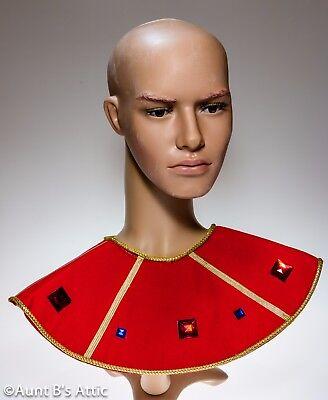 & Gold Geflochten Hals mit Juwelen Kostüm Accss (ägyptische Juwel Kostüm)