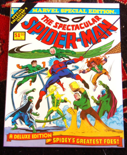 Marvel Special Editionl #1 1975 ALL DITKO ART! - Scarce in High Grade