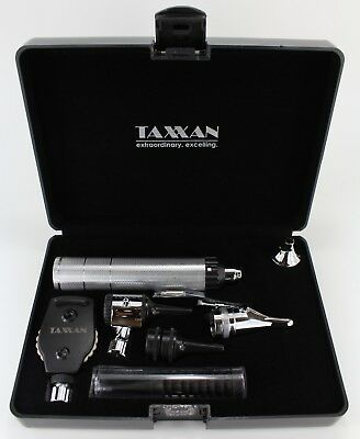 Taxxan Ent Diagnostic Otoscope Ophthalmoscope Nasal Speculum Wextras