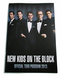 NEW KIDS ON THE BLOCK OFFICIAL TOUR PROGRAM BOOK 2013 NEW