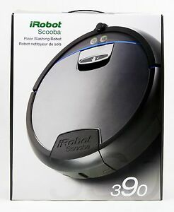 iRobot SCOOBA 390 Floor Washing Robot FREE SHIP USA! S390020 WE SHIP WORLDWIDE!!