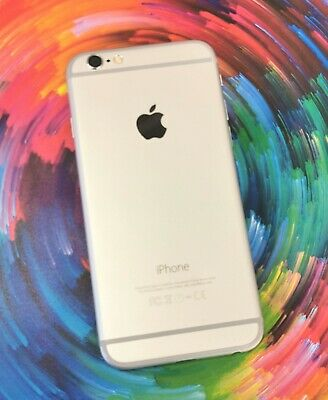Apple iPhone 6 16GB Unlocked Silver White Average Condition