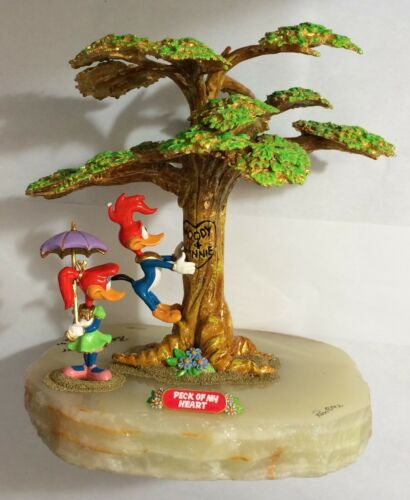 """RON LEE WOODY WOODPECKER """"Peck of My Heart"""" Huge! MINT Extra Artist Signature"""