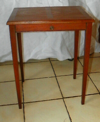 Heritage Mahogany Nesting Table / End Table by Henredon  (T655) for sale  Joplin