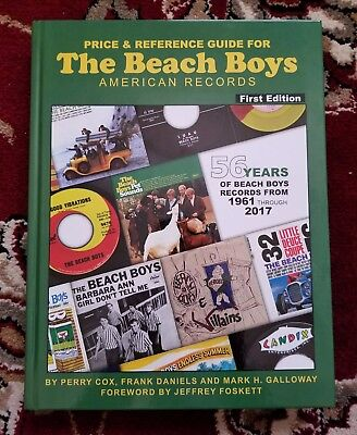 Beach Boys HERE IT FINALLY IS! THE ALL NEW BEACH BOYS PRICE GUIDE STANDARD ED.