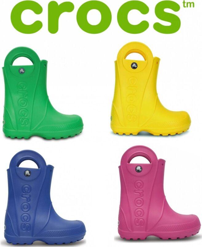 Crocs HANDLE IT RAIN BOOT Kids Boys