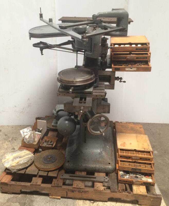 George Gorton Model 3u Pantograph Engraver Duplicator Machine