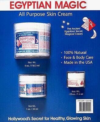 Egyptian Magic All-Purpose Skin Cream Face & Body 100% Natural, 5.25 Ounces All Natural Skin Cream