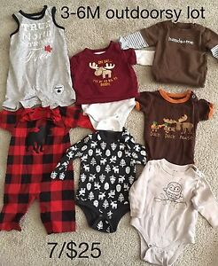 Boys 3-6m mini lots