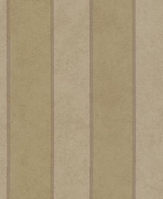 Wallpaper Traditional Gold & Beige Faux Stripe