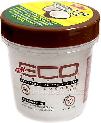 ECO Styler Professional Styling Gel, Coconut Oil, Max Hold 8 oz