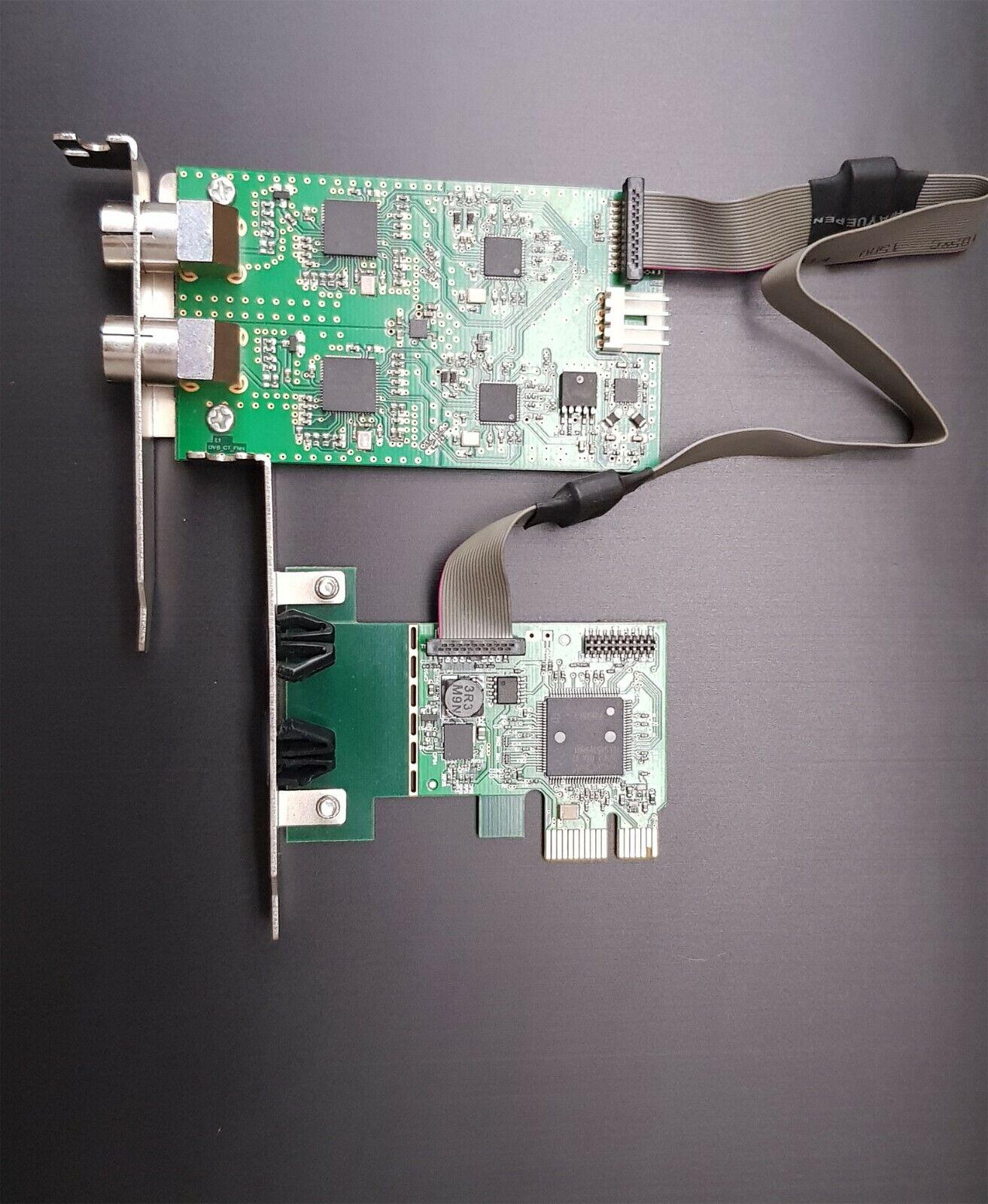 Digital Devices DuoFlex C/T V1 TV Karte für DVB-C