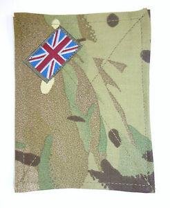 British Army MTP Multicam Blanking Patch Panel Union Jack for UBACS PCS Shirt