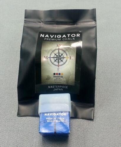 1 pc. - Navigator Masterpiece Premium Chalk W/ SIlicone Cover  Pool & Billiard