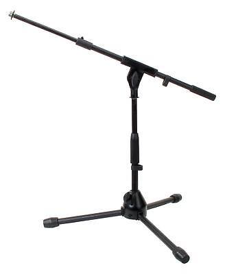 PA Mikrofon Ständer Stativ Galgen Micro Halter Niedrige Bauweise Bass Drum Stand
