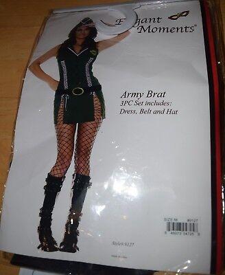 NEW!  Army Brat Costume by Elegant Moments Size Medium