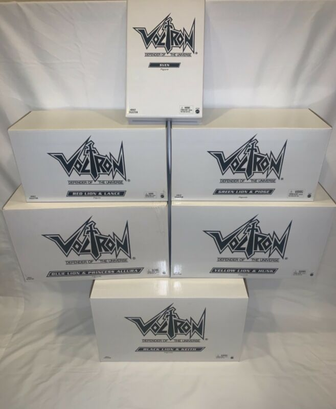 "Matty Collector Club Voltron ""Complete Set"" Sven Included ""Brand New"""
