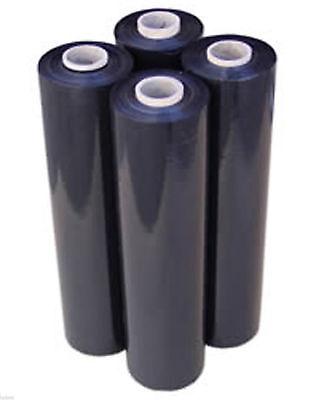 80 Ga 4 Black Stretch Film Rolls Wrap Packaging 18 X 1000 - - Promotion