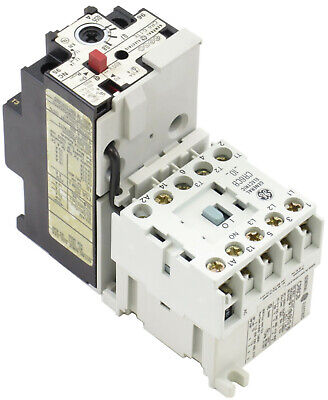 Ge Miniature Contactor Overload Relay Magnetic Starter Choose Coil Voltage
