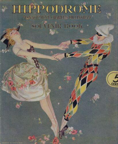 """New York Hippodrome ANNA PAVLOWA (Pavlova) Ballet """"THE BIG SHOW"""" 1916 Program"""