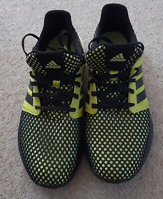 Adidas Boost Black/yellow Trainers- Size 8