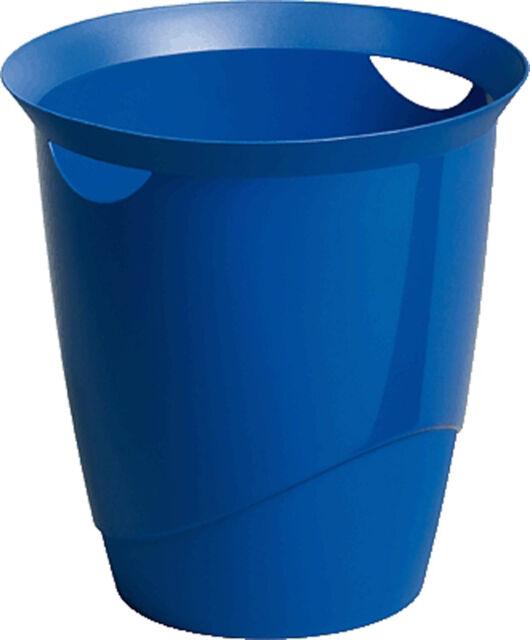 DURABLE 1701710040  Papierkorb TREND 16 Liter blau