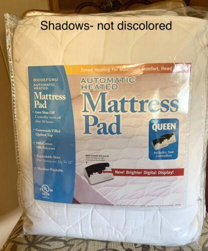 Biddeford Blankets Quilted Skirt Electric Warming Mattress P