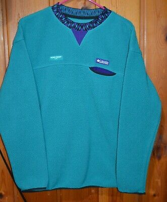 Columbia X Opening Ceremony Fleece Sweatshirt Jacket Size S/P Small Pullover