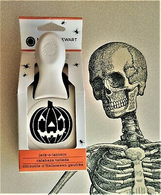 MARTHA STEWART * LARGE JACK O LANTERN * HALLOWEEN DOUBLE CRAFT PAPER PUNCH - Halloween Paper Lanterns Crafts