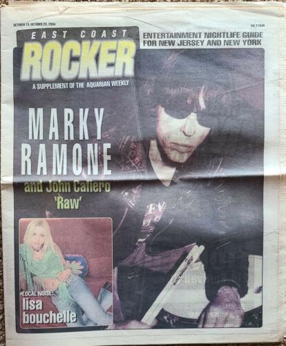 East Coast Rocker Mag Marky Ramone 2004  RARE