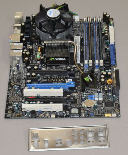 EVGA 122-CK-NF68-T1 Motherboard Combo Core 2 Extreme QX6700 2.66GHz 8GB Shield