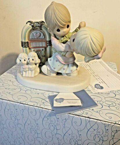2006 Precious Moments ~ Rock Around The Clock Figurine Signed in Box