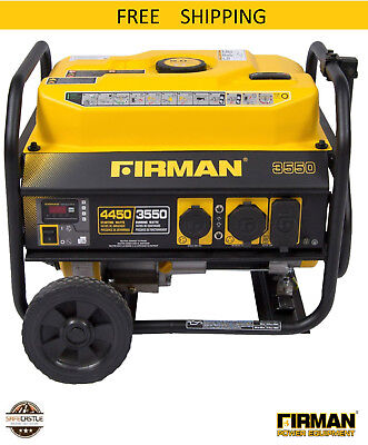 Firman Power Equipment P03501 Gas-powered Performance Series Portable Generator
