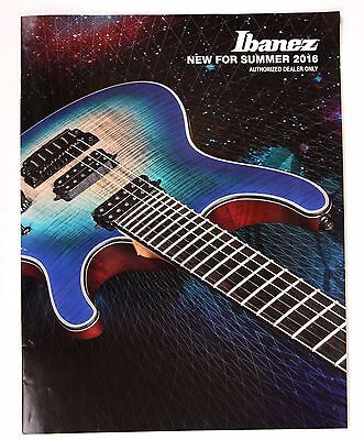 Ibanez New for Summer 2016 Dealers Catalog, Guitars Prestige Acoustic Bass, used for sale  Ocean City