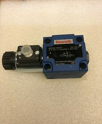 Rexroth R901254073 Hydraulic 3-way Poppet Valve 24vdc New