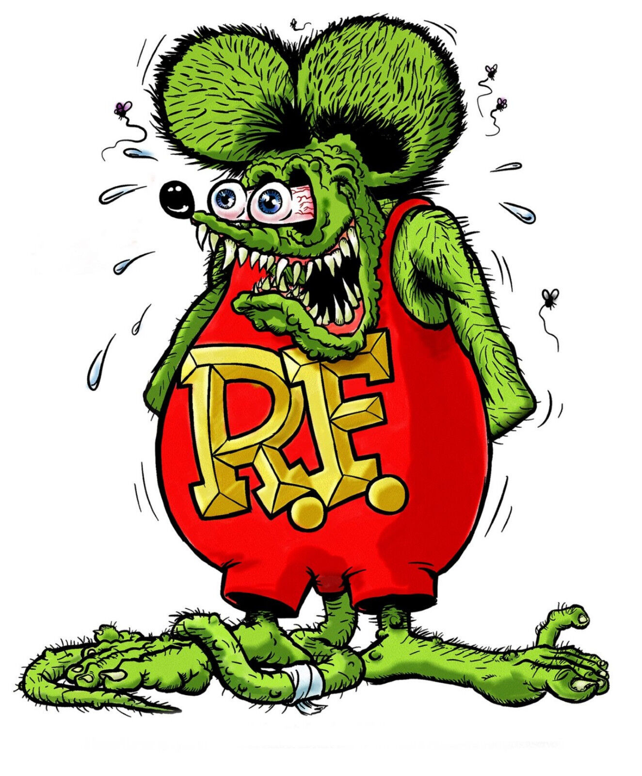 Home Decoration - RAT FINK Vinyl Decal / Sticker ** 5 Sizes **