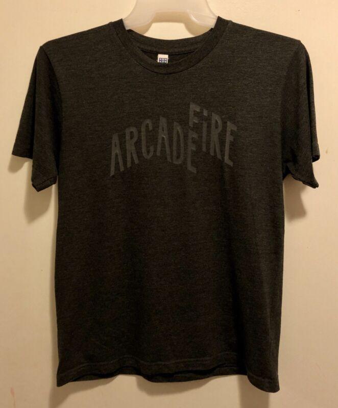 EUC Arcade Fire Reflektor 2014 Concert Tour Gray T-Shirt Adult Size Medium
