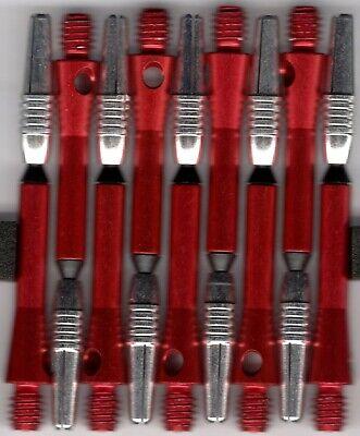 2ba Thread 6 SETS of SHORT ALUMINUM DART SHAFTS 6 sets per order 1.5in