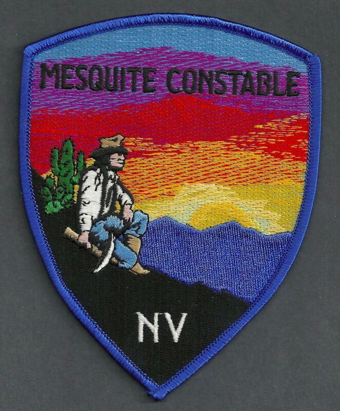 MESQUITE NEVADA CONSTABLE SHOULDER PATCH
