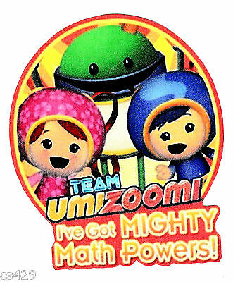 4  Team Umizoomi Geo Milli Bot Group Wall Safe Sticker Border Cut Out Character