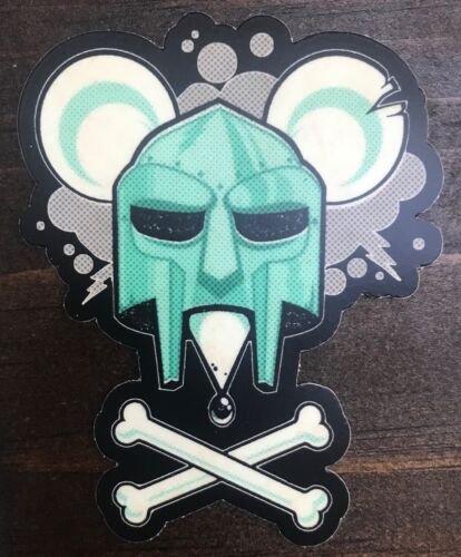 MF DOOM STICKER dangerdoom vinyl doomsday record album cd shirt hat hoodie mouse