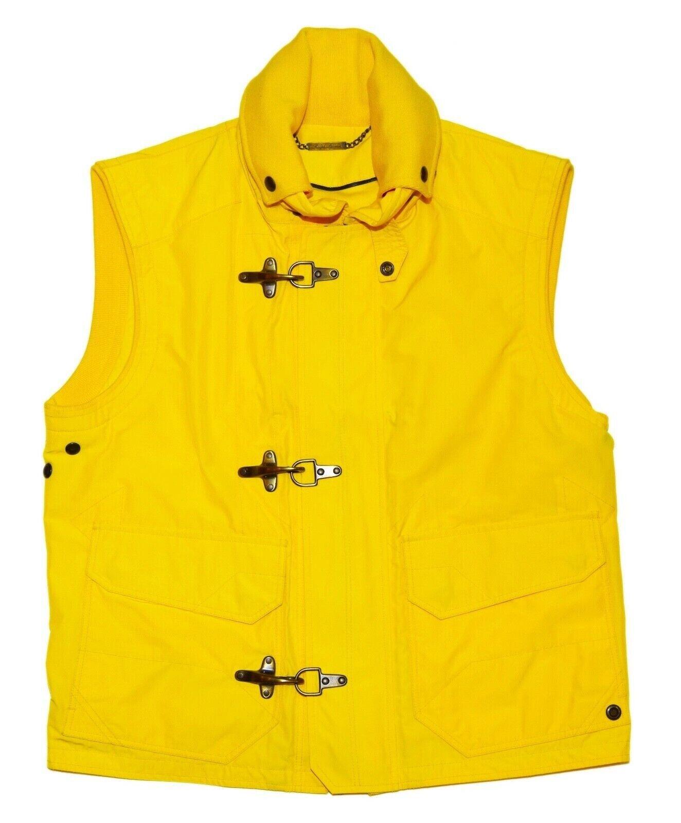 1995-ralph-lauren-purple-label-men-toggle-hooded-jacket-vest-italy-yellow-large