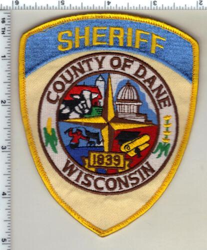 Dane County Sheriffs Dept. (Wisconsin) 2nd Issue Uniform Take-Off Shoulder Patch