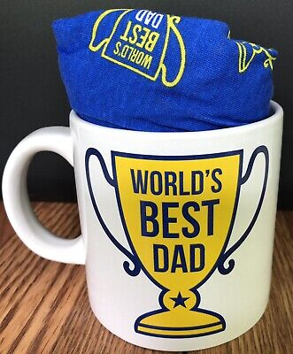 Gift Set World's Best Dad Coffee Mug With Boxer Briefs Collectible Gift](World's Best Dad Mug)