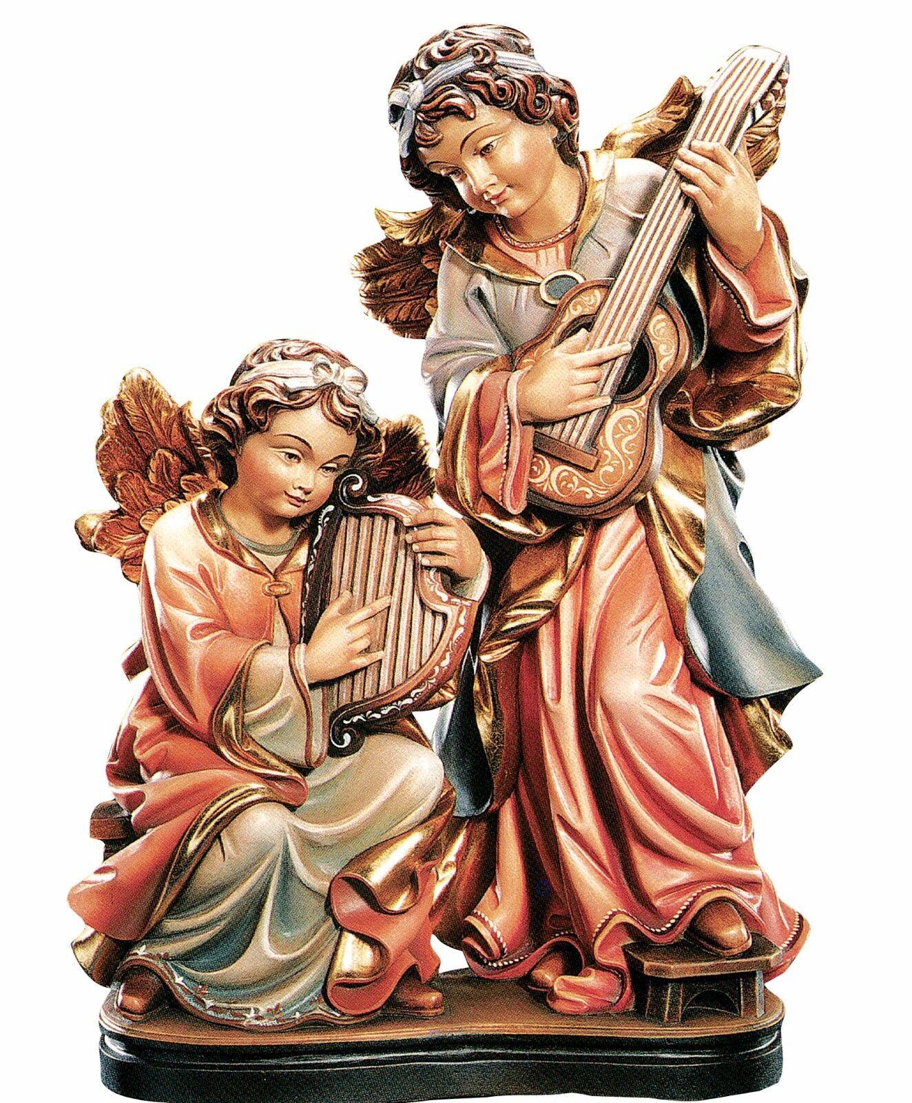 Angeli Suonatori Wooden statue Group