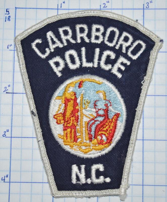 NORTH CAROLINA, CARRBORO POLICE DEPT PATCH